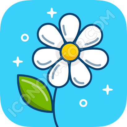 Flower Daisy Icon