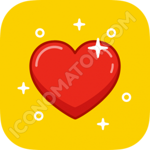 Heart Sparks Icon