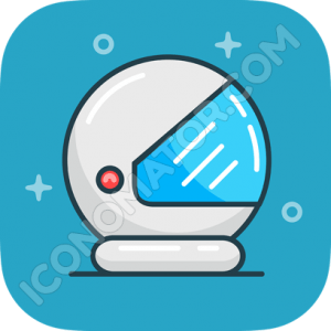 Biker Helmet Icon