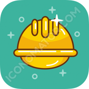 Builder's Hard Hat Icon