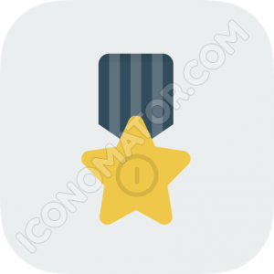 Medal Star Icon