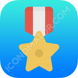 Medal Winner Icon