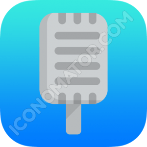 Microphone Radio Show Icon
