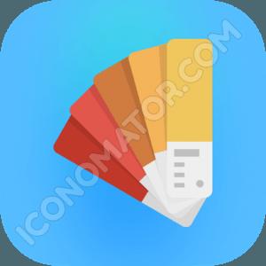 Pantone Pastel Icon