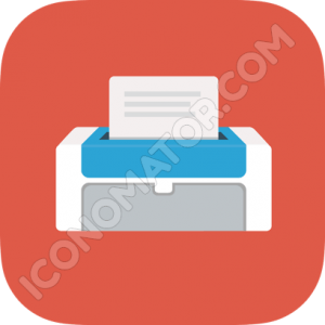 Printer Home Icon