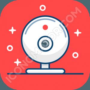 Webcam Funky Icon
