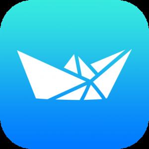 Boat Origami Icon