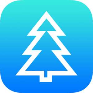 Christmas Tree Outline Icon