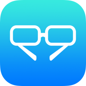 Glasses Outline Icon