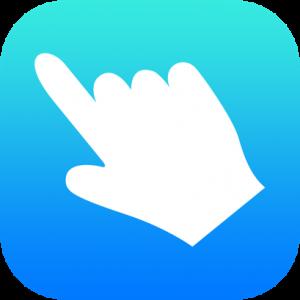 Hand White Icon