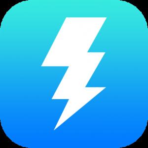 Thunderbolt Outline Icon