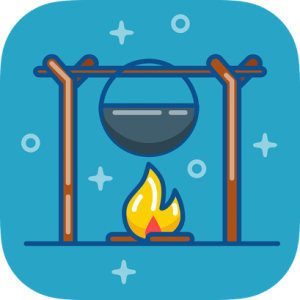 Cauldron & Campfire Icon