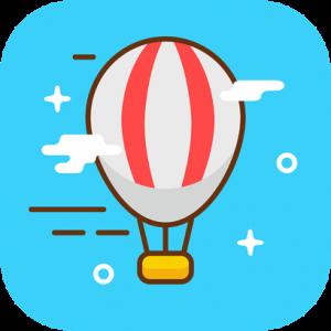 Air Balloon Flying Icon