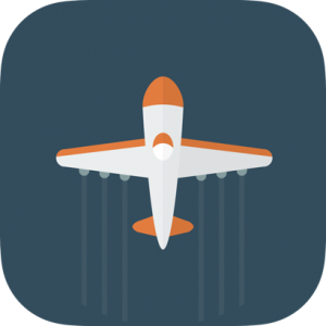 Airplane Flying Icon