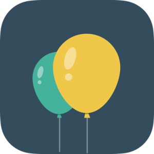 Three  Baloons Icon