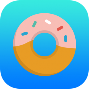 Donut Pink Icing Icon