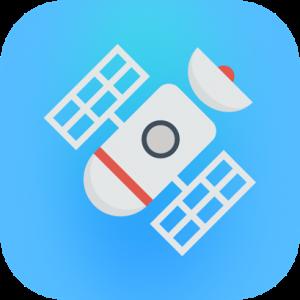 Retro Satellite Icon