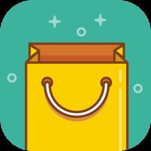 Shopping Bag Yellow Icon
