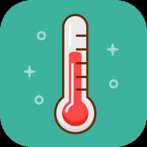Thermometer Retro Icon
