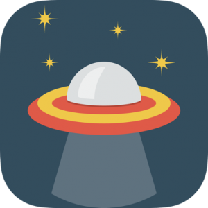 UFO Space Icon